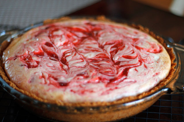 strawberryrhubarbcheesecake